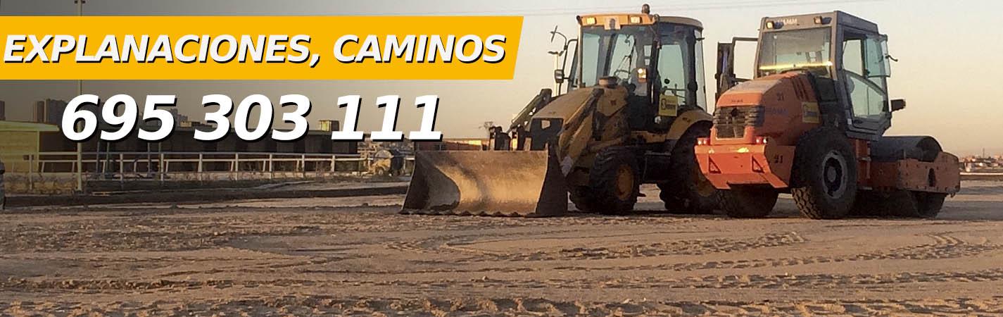 Empresa de excavación en Madrid, Explanación de terrenos y caminos, 695 303 111