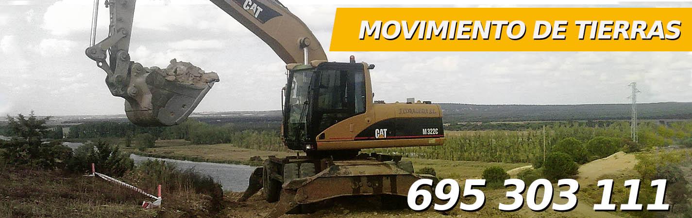 Empresa de excavación en Madrid, Movimiento de Tierras, 695 303 111, desmontes