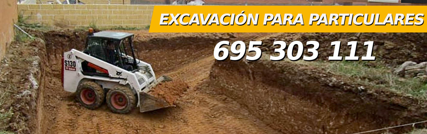 Empresa de Excavación para particulares en Madrid, 695303111